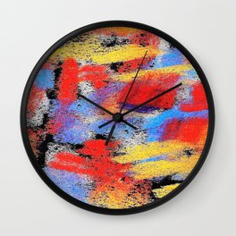 Multicolor pp ing Wall Clock