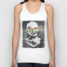 Gandhi Unisex Tank Top