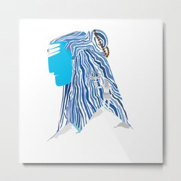 Shiva e Destroyer Metal Print