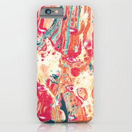 Senses pouring III iPhone Case