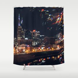 Music City Lights - Nashville Shower Curtain