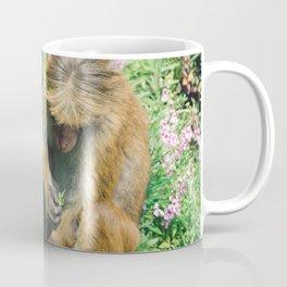 Monkey at the Royal Botanical Garden, Kandy, Sri Lanka Coffee Mug