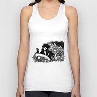 jack sparrow Tank Tops featuring Jack Sparrow by Ink Tales