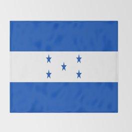 flag honduras,america,latine,spanish,Honduran, Catracho,Mesoamerican,Tegucigalpa,San Pedro,Choloma Throw Blanket