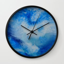 And the Heavens Opened up for Michael Wall Clock