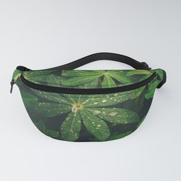 Floral Foliage Fanny Pack