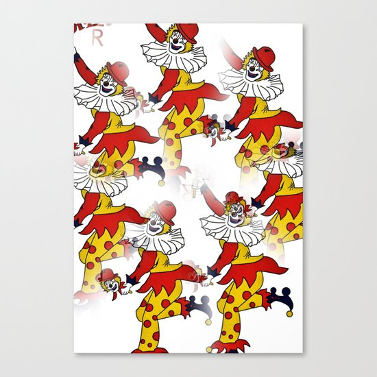 Jokers Wild Canvas Print