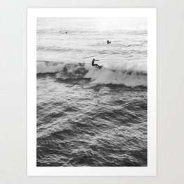 BUENA ONDA Art Print