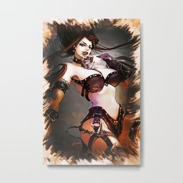 League of Legends SHADOW EVELYNN Metal Print