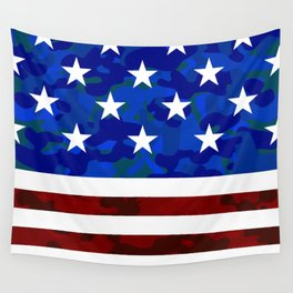 Stars & Stripes (Camouflage) Wall Tapestry