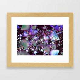 Psychedelic mushrooms Framed Art Print