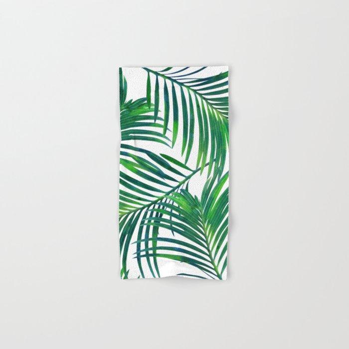 Palm Paradise #society6 #decor #buyart Hand & Bath Towel