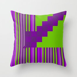 Playing with Colors Throw Pillow
