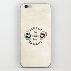 The Funny Talking Dead Skull Picture iPhone & iPod Skin