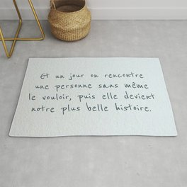 most beautiful story Rug