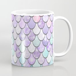 Cute Pretty Fun Girly Pattern, Ombre Pastel Pink, Purple, Teal Coffee Mug
