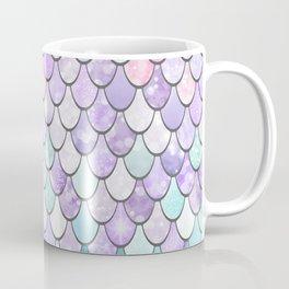 Girls Cute Mermaid Pattern, Pink, Purple, Teal Coffee Mug