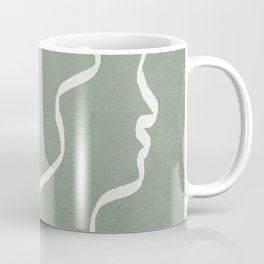 Abstract Faces Coffee Mug