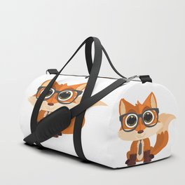Fox Nerd Duffle Bag