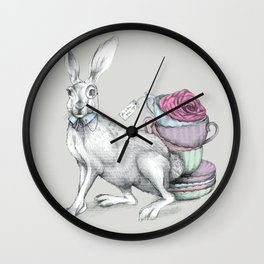 Tea with Hatter Wall Clock
