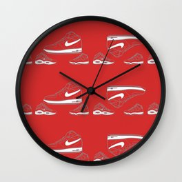 Air Forces one steals the show Wall Clock