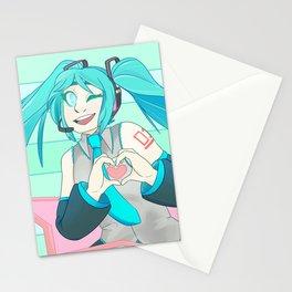 Miku, Miku, oo-ee-oo Stationery Cards