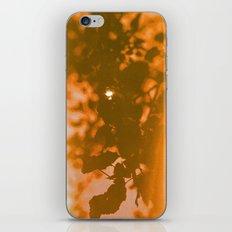 orange haze and white sunlight iPhone & iPod Skin