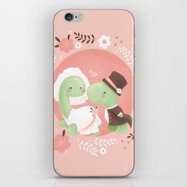 Dinosaur Wedding iPhone Skin