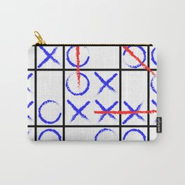 Tic Tac Toe Group Carry-All Pouch