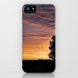 Dark Sunrise iPhone Case