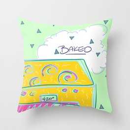 bake Throw Pillow