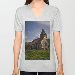 Selmeston Church Unisex V-Neck