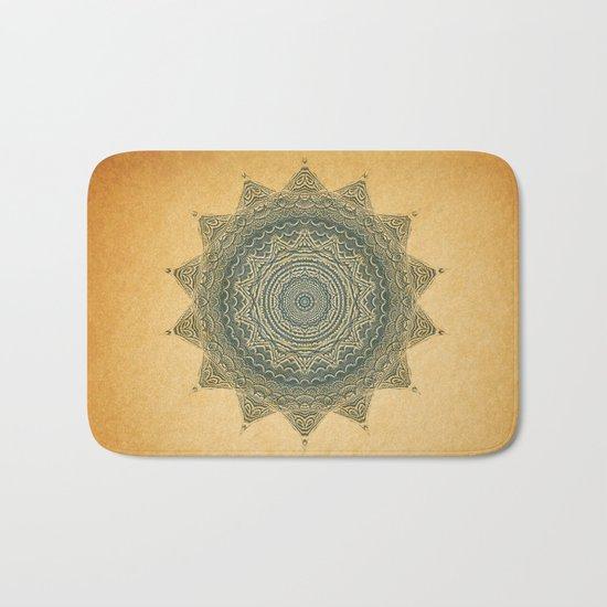 Sun Symbol Bath Mat