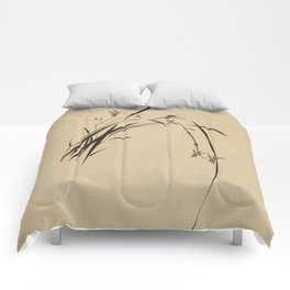 Singing Orchid Comforters