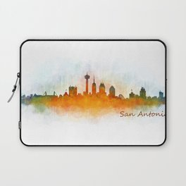 San Antonio City Skyline Hq v3 Laptop Sleeve