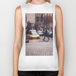 ITALIAN - YELLOW - MAN - STREETS - SUPERCAR - PHOTOGRAPHY Biker Tank