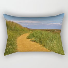 Coastal Pathway Rectangular Pillow