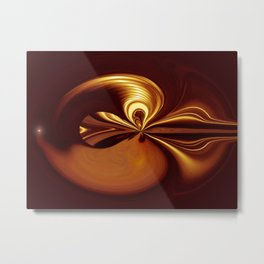 """Sounds"" Metal Print"