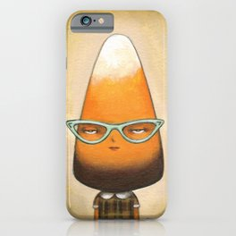 Chocolate Candy Corn iPhone Case