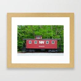 Norfolk & Western Caboose Framed Art Print