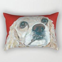 Lola the Cocker Spaniel Rectangular Pillow