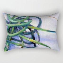 Garlic Scapes Rectangular Pillow