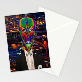 Alien Night Out Stationery Cards