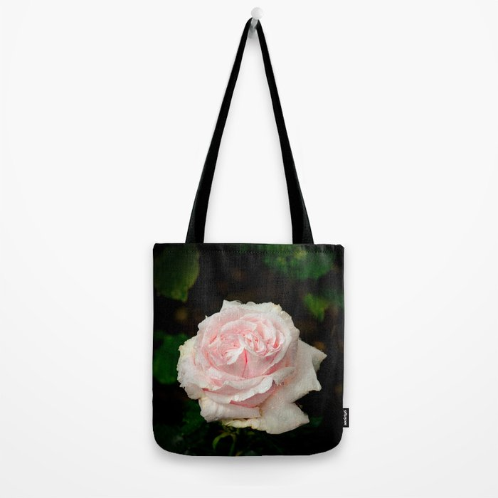 Rose twins with droplets Tote Bag
