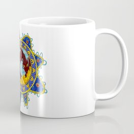 Red Dragon Emblem Coffee Mug