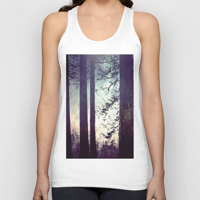 Fantastic Forest - Nature Photography Unisex Tanktop