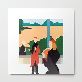 Brian Eno - Another Green World Metal Print