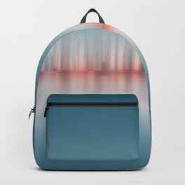 abstract cityscape illustration - city skyline Backpack