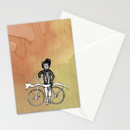 Bear's Bike Stationery Cards