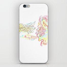 lady+jellybeanfish iPhone Skin